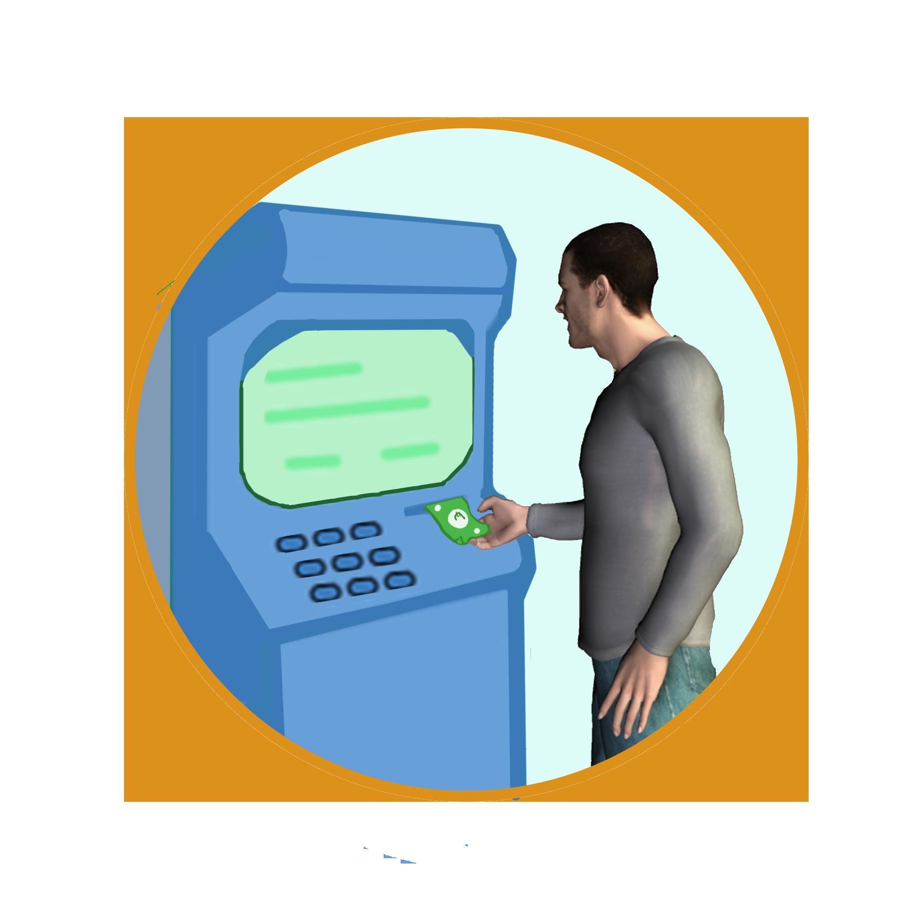 Acude al cajero y recoge el dinero de manera inmediata