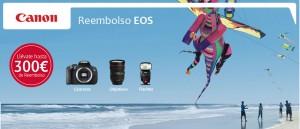 Obten hasta 300€ de reembolso con Canon